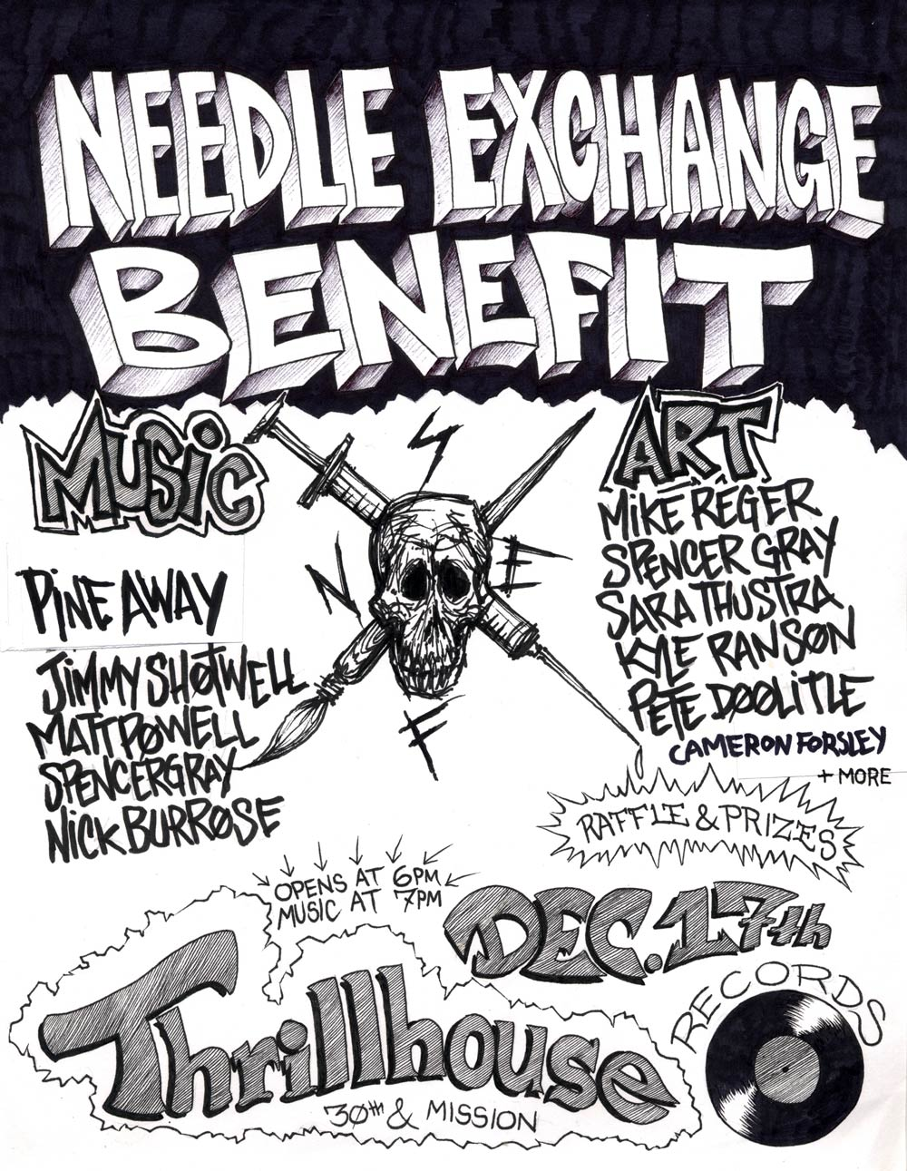 SF Needle Exchange Benefit Art Show