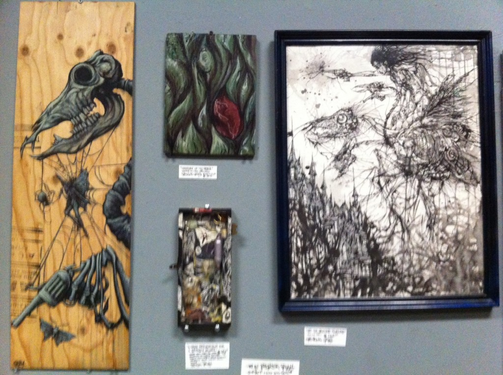 interested in any of these pieces? write to minicomix@gmail.com Re:Spencer's Paintings